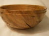Oak rustic bowl