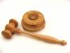 oak-gavel-and-block-with-walnut-striker