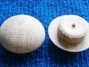 Oak 30mm mushroom head buttons