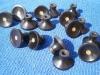 Ebony drawer knobs with Oak insert